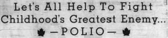 Polio, 2-2-1950 OJ