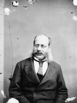 Panic Hon. Sir Richard Cartwright, 1881 Topley Studio Fonds LAC PA-025546